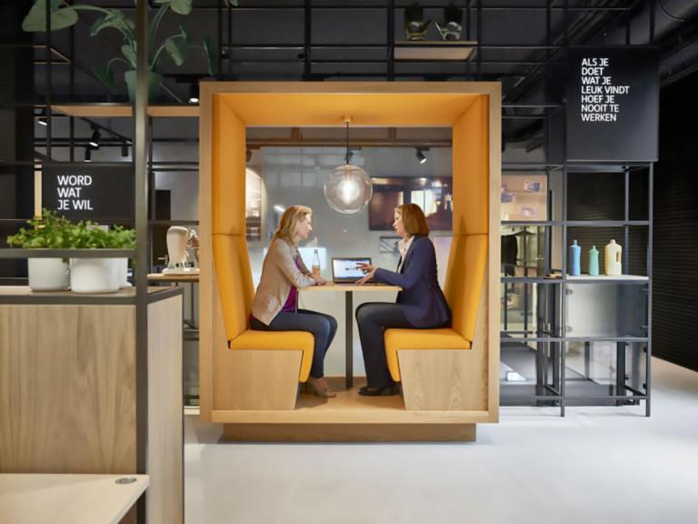 Stalen Interieur op Maat voor Kantoren; ING