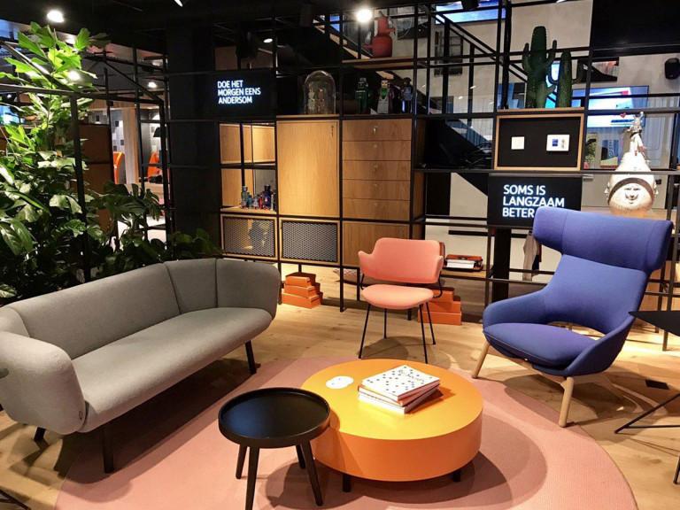 Stalen Interieur; 'ING Huizen', Kantoor Amstelveel