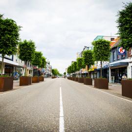 Cortenstaal Plantenbakken, Eindhovenseweg, Valkenswaard