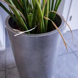 RVS Plantenbak, Rond, Binnen