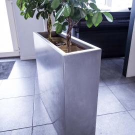 RVS Plantenbak, rechthoeking