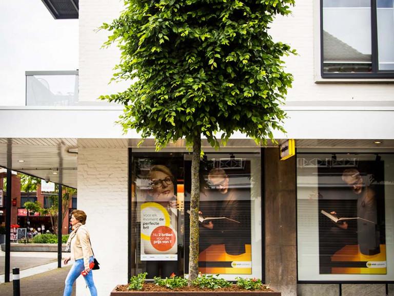 Cortenstaal Plantenbak, Eindhovenseweg, Valkenswaard